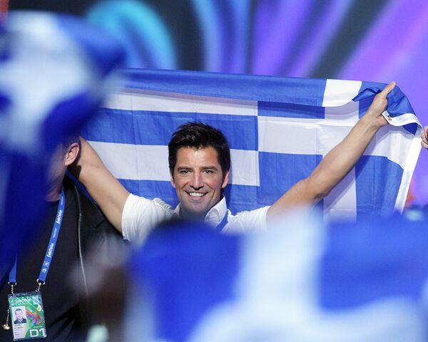 Сакис Рувас из Греции вышел в финал конкурса Евровидение-2009