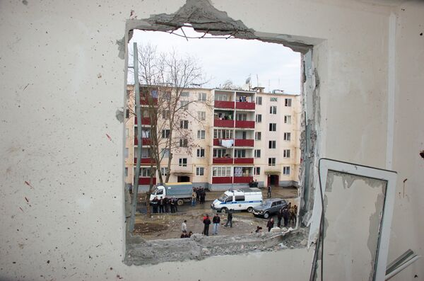 Теракт в Грозном