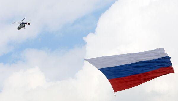 Флаг РФ раскроется на Останкинской телебашне впервые после 1991 года