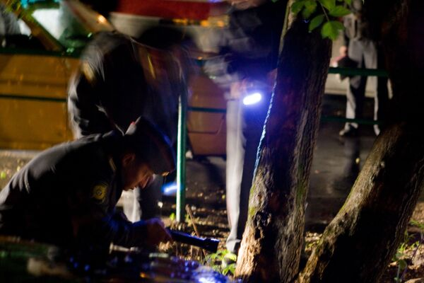 Два человека расстреляны из автоматов на юго-востоке Москвы.