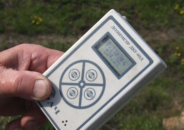 Измерение радиационного фона. Архив