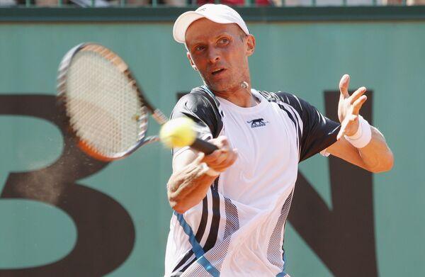 Российский теннисист Николай Давыденко.