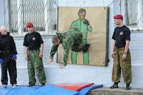 Всероссийские квалификационные испытания на право ношения крапового берета