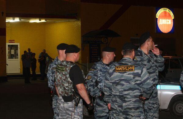 Заложники в московском магазине освобождены