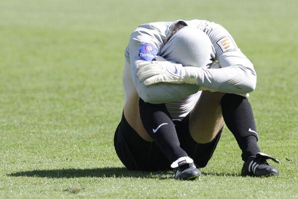 Чемпион России проиграл в Кубке страны клубу второго дивизиона