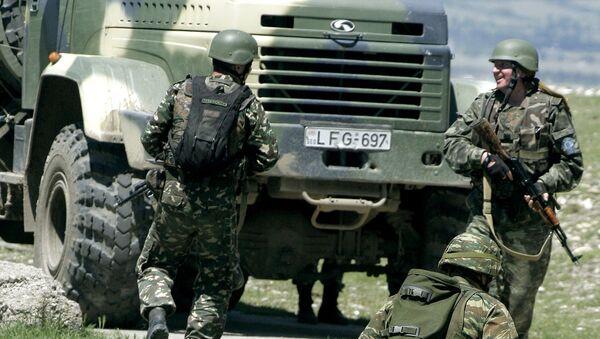 Войска НАТО на учениях. Архивное фото