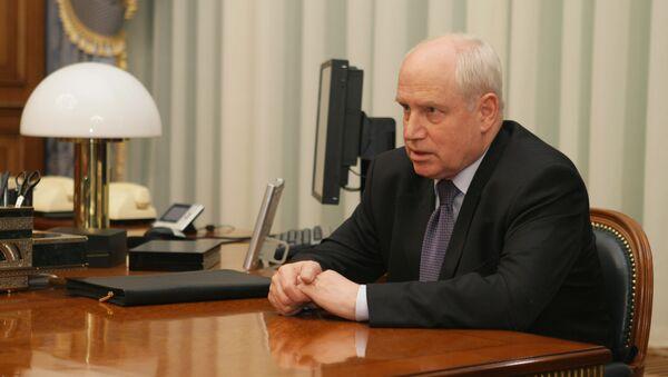 Исполнительный секретарь Содружества независимых государств Сергей Лебедев. Архив