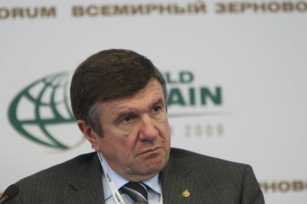 Председатель правления ОАО Россельхозбанк Юрий Трушин