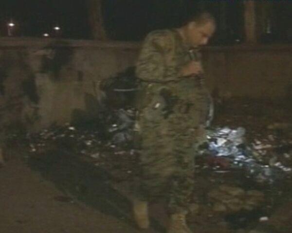 Взрывы на вокзале в грузинском Зугдиди. Видео с места происшествия