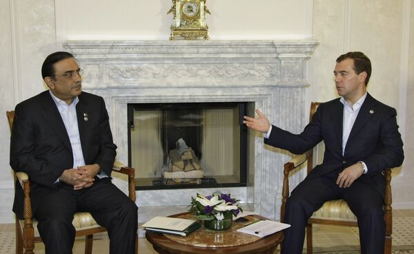 Президент Пакистана Асиф али Зардари