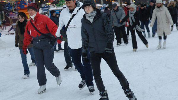 Москвичи смогут посмотреть кино и лазерное шоу, катаясь на коньках