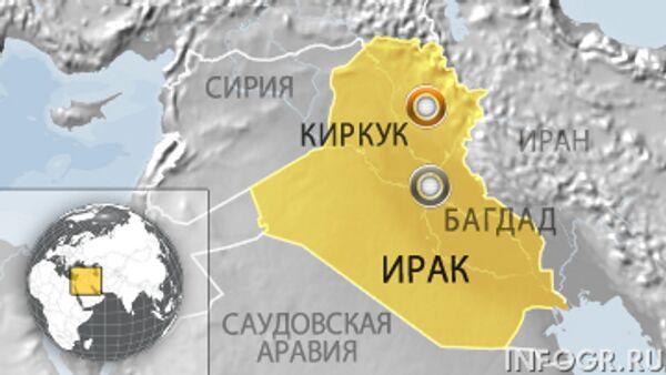 Более 20 человек погибли при взрыве в Киркуке на севере Ирака