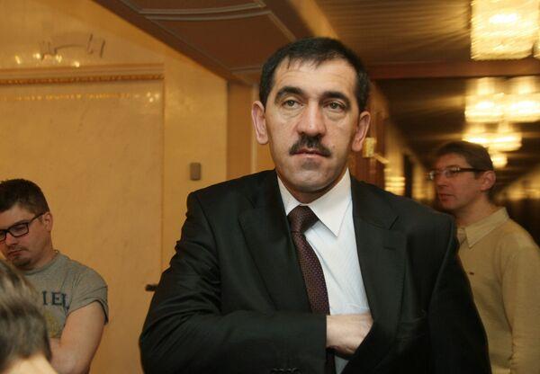 Президент Республики Ингушетия Юнус-Бек Евкуров