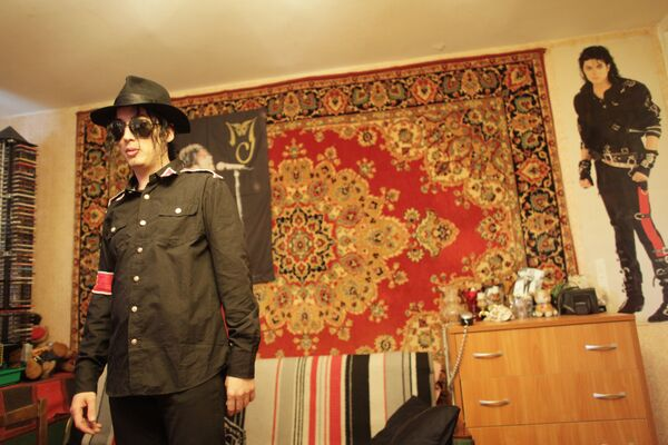 Двойник Майкла Джексона - Павел Талалаев