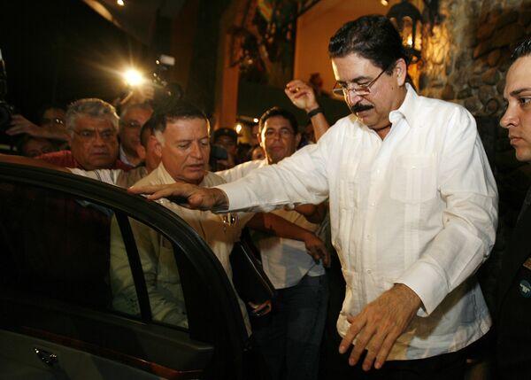 Президент Гондураса Мануэль Селайя