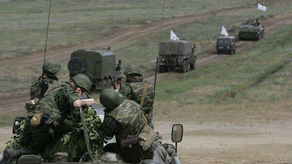 Оперативно-тактические учения Северо-Кавказского военного округа