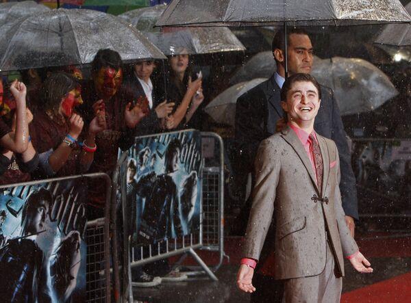 Актер Дэниел Рэдклифф на премьере шестого фильма Гарри Поттер и Принц-полукровка