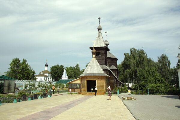 Храм Святой Троицы Свято-Троицкого монастыря в Муроме. Архив