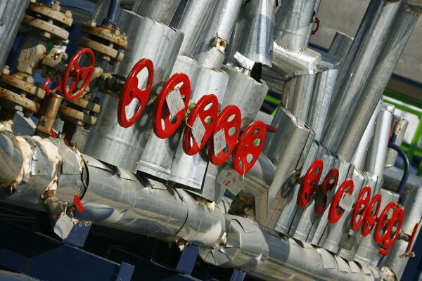 Дожимная насосная газостанция