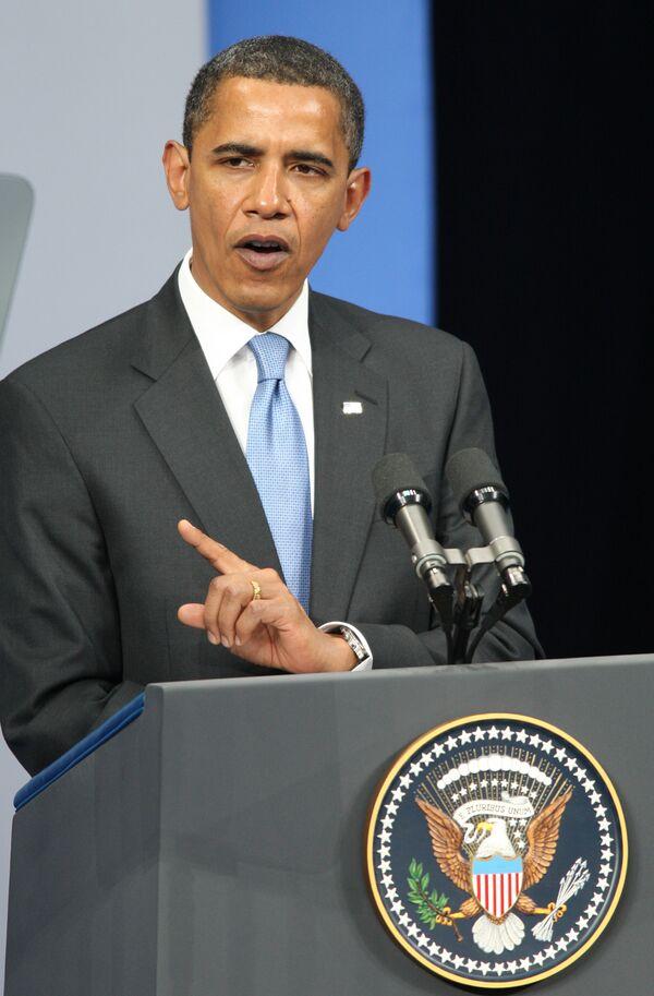 Обама: мир избежал коллапса в экономике, но до восстановления далеко