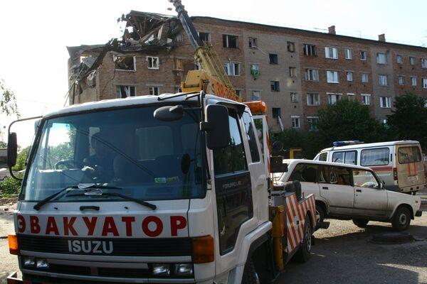 Взрыв бытового газа в Омске
