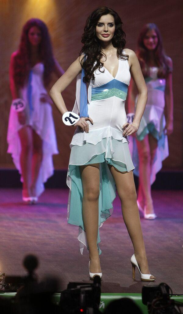 Победительницей конкурса Мисс Москва-2009 стала 25-летняя модель Юлия Образцова