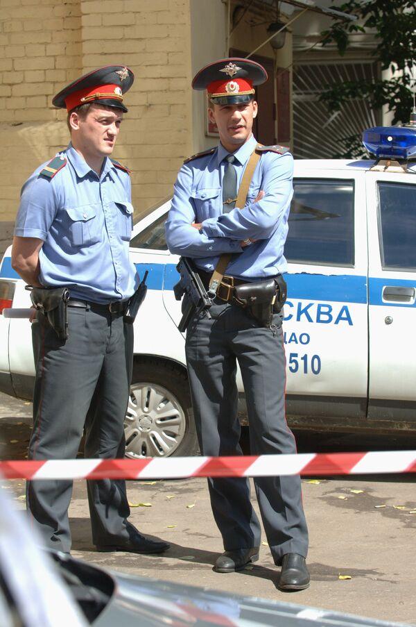 Взрывотехники изъяли муляж бомбы в Макдоналдсе на юго-востоке Москвы