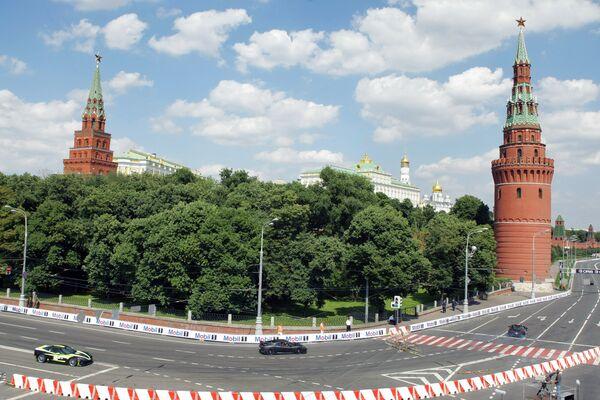 Шоу Bavaria Moscow City Racing. Архив