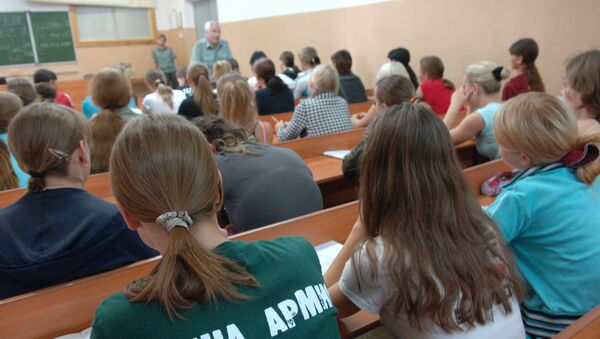 Рязанское высшее воздушно-десантное командное училище. Архивное фото