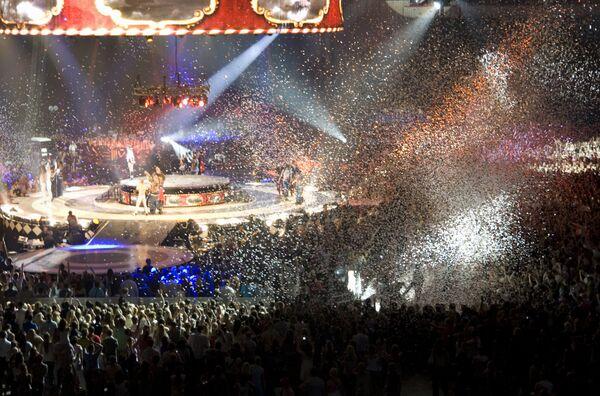 Шоу певицы Бритни Спирс Circus в Москве