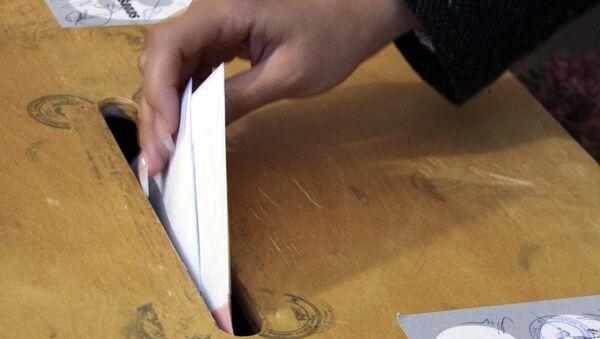 Выборы в Латвии. Архивное фото