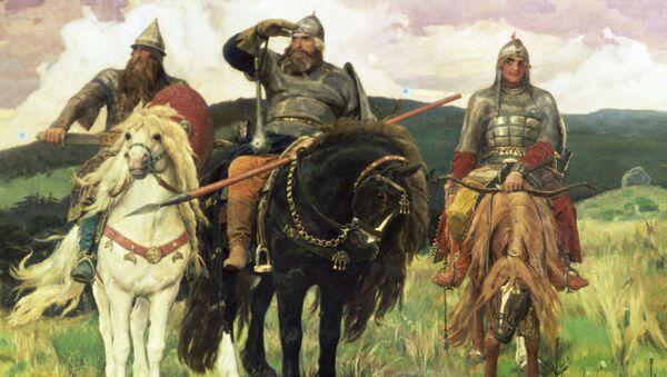 В.Васнецов Богатыри