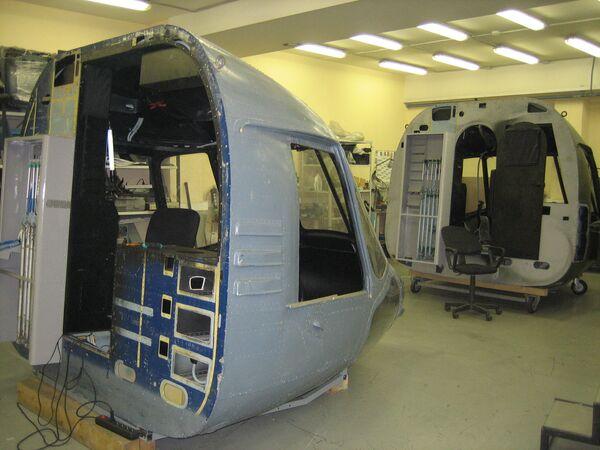 Кабины вертолетов Ми-8 готовы для тренажерной начинки