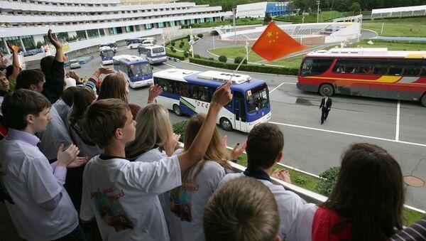 Дети из КНР в ВДЦ Океан во Владивостоке