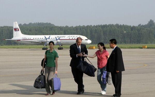 Освобожденные из северокорейской тюрьмы американские журналистки Лора Лин и Юна Ли