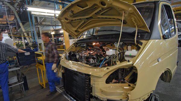 ГАЗ в 2010 году начнет выпуск обновленной ГАЗели