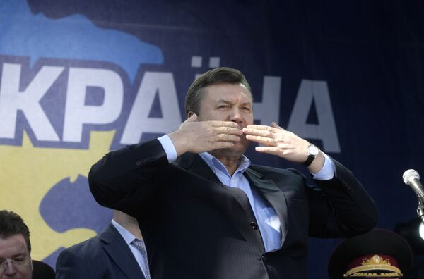 Янукович идет на выборы