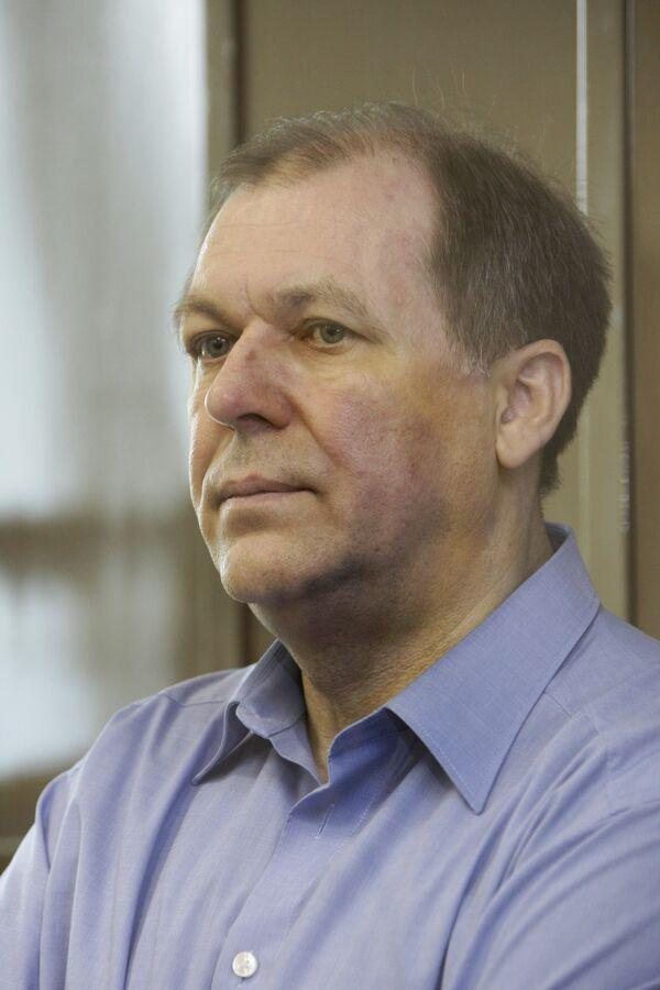 Андрей Таранов в Мосгорсуде во время оглашения приговора
