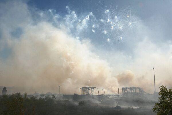 Два человека погибли при взрыве на складе пиротехники в Бразилии