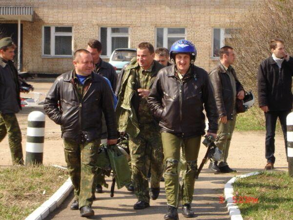 Игорь Ткаченко (слева)