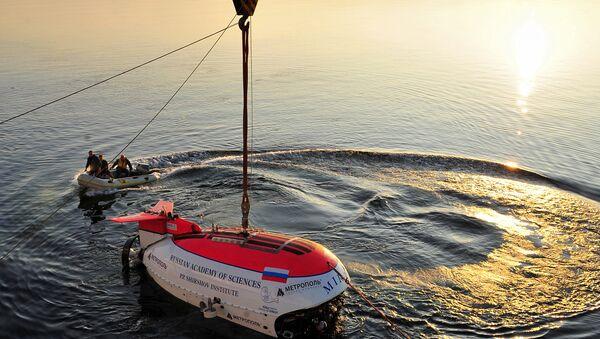 Работа глубоководных аппаратов Мир-1 и Мир-2 на озере Байкал. Архив