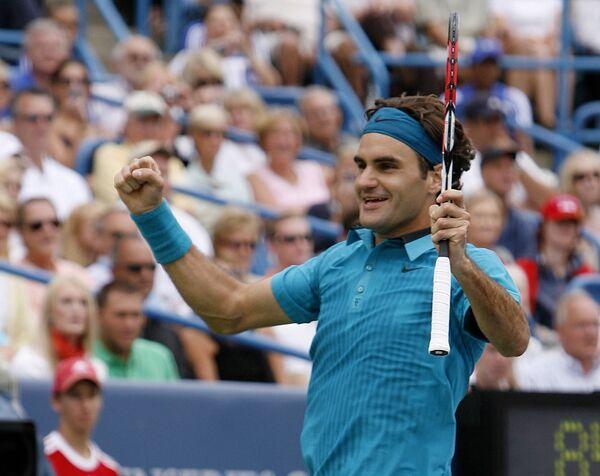 Первая ракетка мира швейцарец Роджер Федерер
