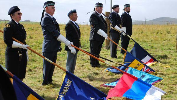 Мемориал участникам северных конвоев. Архивное фото