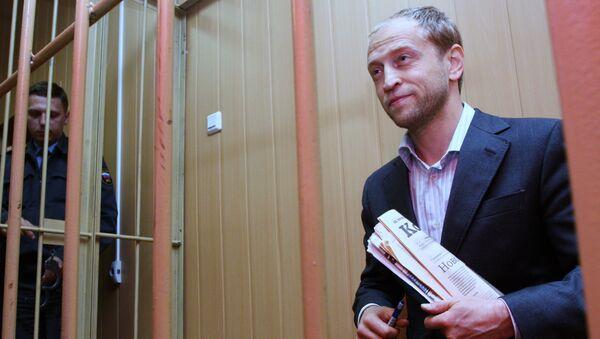 Тверской суд Москвы санкционировал арест Дмитрия Барановского, архивное фото