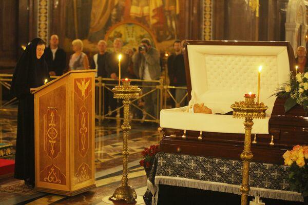 Церемония прощания с Сергеем Михалковым