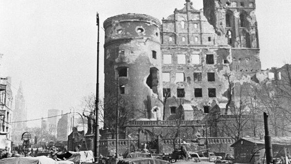 Советские войска в Кёнигсберге в 1945 году