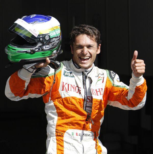 Пилот команды Формулы-1 Форс Индия Джанкарло Физикелла