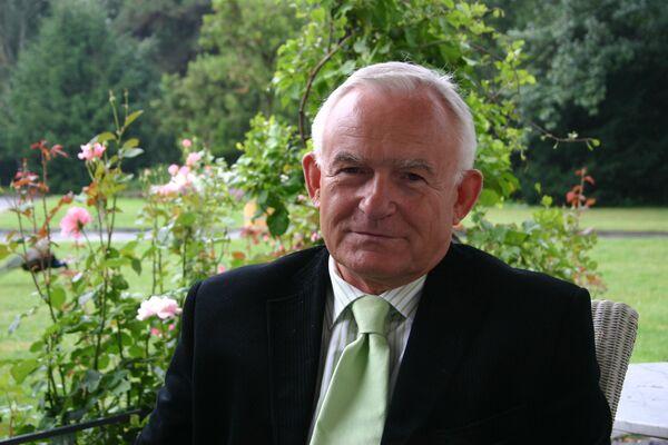 Бывший премьер-министр Польши, лидер партии Польская левица Лешек Миллер