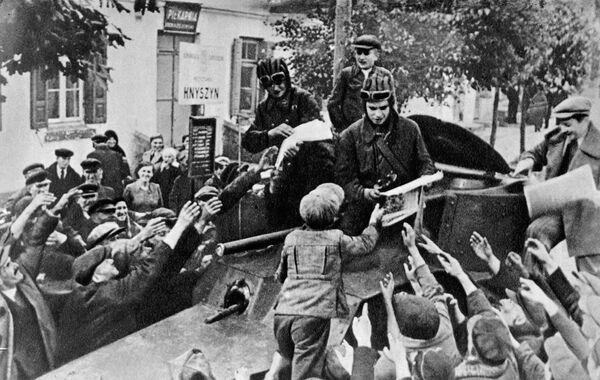 Красная Армия в Западной Белоруссии