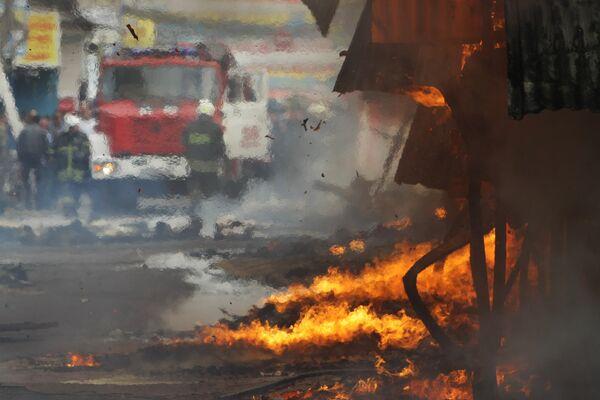 Жертвами пожара в наркодиспансере Талдыкоргана стали 37 человек